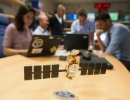 Changement d'orbite du satellite Jason 2